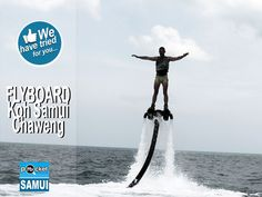 #Flyboard is definitely a MUST TRY on #Samui #Island (#Thailand)! Details & Pictures :  http://lc.cx/ZduT
