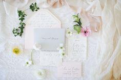 Kelsey Malie Calligraphy wedding invitations