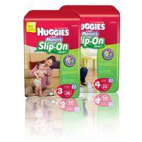 Slip on diapers