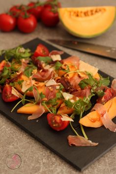 Cold Lunch Recipes, Cold Lunches, Melon And Proscuitto, Tapas Dishes, Batch Cooking, Entrees, Good Food, Brunch, Veggies