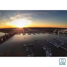 Connecticut  Pic of the Day 09.16.15  Photographer @intheeyesof_b  Congratulations! ✨ #scenesofct #devonbridge #washingtonbridge #housatonicriver  #housatonicrailroad #gopro #goprohero3 #agameoftones #moodygrams #droneoftheday #createcommune #ctvisit #newengland