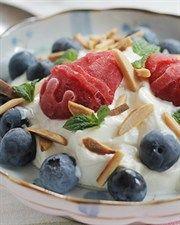 Easter Berry & Yoghurt Snack