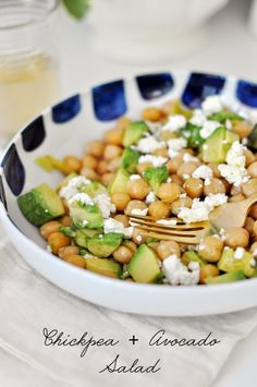 In The Kitchen: Chickpea + Avocado Salad
