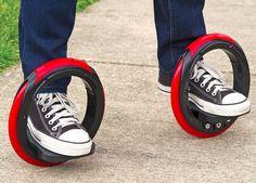 The Sidewinding Circular Skates