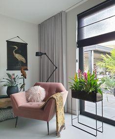 New Living Room, New Room, Living Room Interior, Home Interior Design, Interior Decorating, Décor Boho, Dyi, Black Walls, Wall Colors