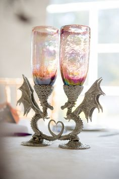 Dragon Wedding Goblets Or Just Every Day Drinking Gles
