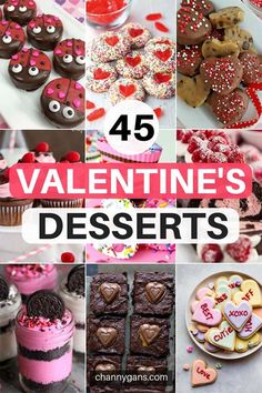 Surprise your loved one with these cute valentines desserts! - Dessert/Nachtisch/Getränke & herzhaftes Essen u. Valentine Desserts, Valentines Day Food, Köstliche Desserts, Dessert Recipes, Walmart Valentines, Valentines Recipes, Valentines Surprise, Valentine Treats, Delicious Desserts