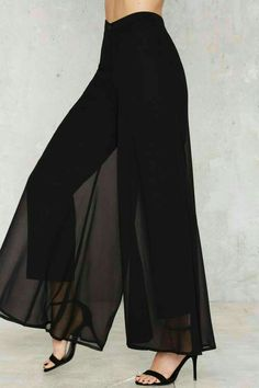 Flow What Wide Leg Pants - Clothes Fashion Mode, Fashion Pants, Hijab Fashion, Fashion Dresses, Womens Fashion, Trendy Fashion, Mode Outfits, Stylish Outfits, Girl Outfits