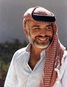 "The late King Hussein was a transformational leader. He made Jordan a kingdom that is well respected by among the world, and its people are known for their good manners, and acceptance for others. King Hussein once said:""Human is the most precious thing we have."", and that influenced to serve my country and my people"