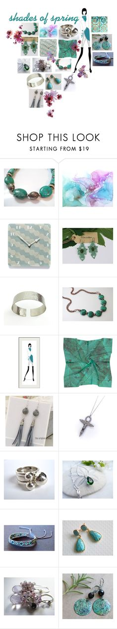 """""""Shades of Spring"""" by artfashionbyromilly ❤ liked on Polyvore featuring interior, interiors, interior design, home, home decor and interior decorating"""