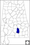 """Crenshaw County-- The center of the Alabama's timber industry also hosts the annual """"World's Largest Peanut Boil"""" festival."""