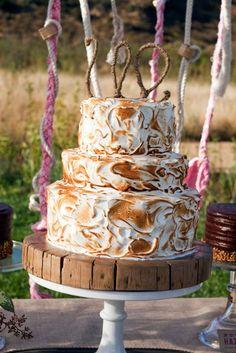 toasted meringue cake