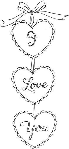 Valentine Stitchery!  :)