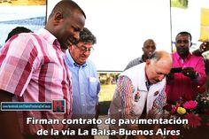 Por fin se dio inicio a una obra que por muchas décadas esperaron las comunidades de Buenos Aires en el norte del Cauca. [http://www.proclamadelcauca.com/2014/09/firman-contrato-de-pavimentacion-de-la-via-la-balsa-buenos-aires.html]