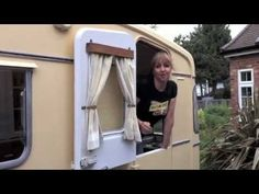 Vintage Caravan Makeover 1 - let us show you around our new project!