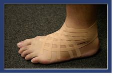 Kinesio Taping-- ankle