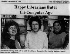 Twin Rivers' recent retirees way back in 1990. #TBT #mclsnj