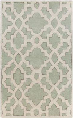 Surya Modern Classics Candace Olson CAN896 Light Celadon Rug