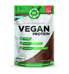 Organic Vegan Protein Powder- Fully Natural, RAW, Certified Organic, Natural NON-GMO Plant based - No Dairy, Gluten or Soy - 26 Servings - Protein - Rich Chocolate Flavor - Made in USA Organic Vegan Protein Powder, Plant Based Protein Powder, Best Protein, Chocolate Flavors, Vegan Gluten Free, Cool Things To Buy, Low Carb, Physical Condition, Digital Camera
