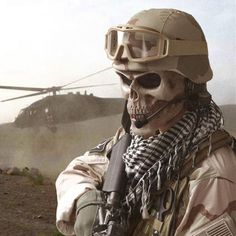 skull mask military - Google Search