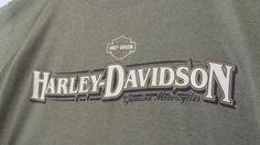 Harley Davidson Mens T Shirt Daytona Beach Vintage Harley T Shirt  sz XXL Authentic Harley Tag FL ReVintageBoutique.Etsy.com
