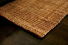 Found it at Wayfair - Helvetia Hand-Woven Natural Jute Area Rug Natural Fiber Rugs, Natural Area Rugs, Jute Rug, Woven Rug, Montgomery, Best Carpet, Brown Rug, Accent Rugs, Carpet Runner
