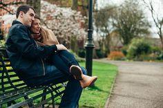 Jon & Carly's engagement photos in Lichfield   Mustard Yellow Photography