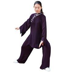 c896a021d BlueSkyDeer Women's Mandarin Collar Tai Chi Apparel Kung ... https://www