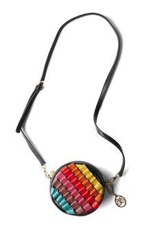 Ar-ray of Activities Shoulder Bag bunt und rund