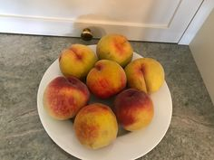 Peaches from my faithful tree!