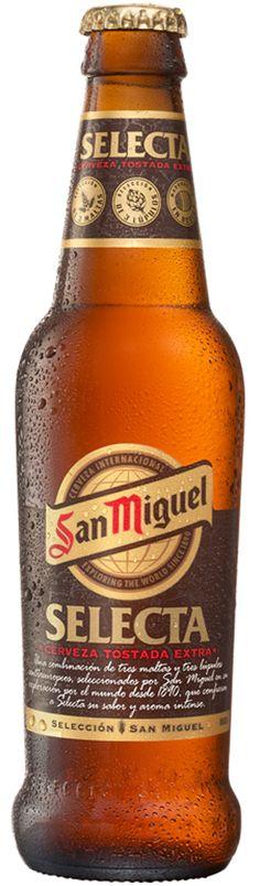 San Miguel Selecta / Cerveza española de tipo Euro Strong Lager y color tostado / Alcohol 6,20% / BA SCORE - no score