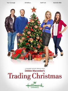 """A #SummerTV must watch! Saturday July 13 8p/7c Debbie Macomber's """"Trading Christmas"""" - Emily and Charles find love at the most unexpected time and have the best Christmas season ever. Stars Gil Bellows, Tom Cavanagh, and Faith Ford.  Also this Summer: Hallmark's Original series Debbie Macomber's """"Cedar Cove"""" 2-hour premiere July 20 8p/7c"""