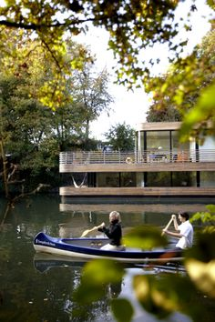 house boats on pinterest houseboats floating homes and. Black Bedroom Furniture Sets. Home Design Ideas