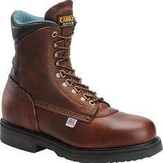 809 Carolina Men's Steel Shank WP Work Boots - Amber