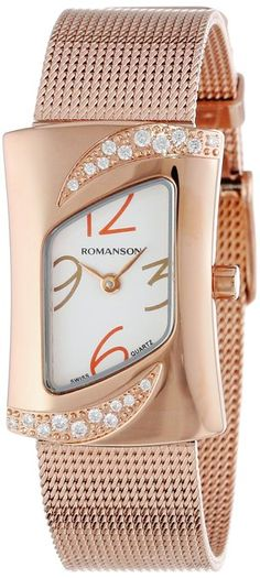 Rhombus shaped watches are quite special in their looking which will make you distinct from the folk.
