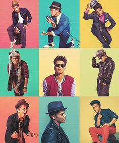 Bruno Mars *sigh* I'd marry him, yers, yers...