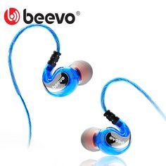 Beevo Earphones Extra Bass Turbo Wide Sound Field In-ear Earphone fone de ouvido auriculares audifonos DJ Bass, Dj Mp3, Portable Phone Charger, Led Flashlight, Ipod, Consumer Electronics, Cool Things To Buy, Headphones, Cool Stuff To Buy