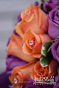 Gems in flowers, didn't really like gems in bouquets till this photo!