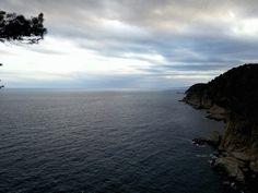 Vistes des de la Vila Vella de Tossa de Mar.