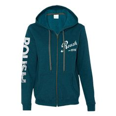 Roush Automotive Collection Store - Roush Ladies Teal Full Zip Hoodie (3172), $47.99 (http://store.roushcollection.com/roush/roush-ladies-teal-full-zip-hoodie-3172/)