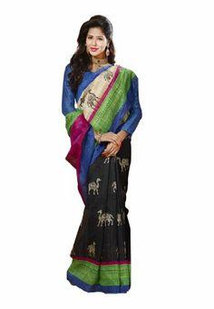 Indian Designer Wear Chappa Silk Black & Blue Printed Saree Fabdeal,http://www.amazon.com/dp/B00ID5NDBM/ref=cm_sw_r_pi_dp_SDtptb1JWG3Z31E7