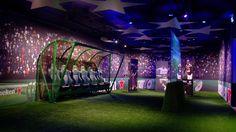 Heineken International | experience center/ UEFA Champions League room | Amsterdam. #interior #experience