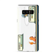 Pokemon charmander squirtle battle Samsung Galaxy Note 8 3D Case Caseperson