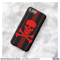 Special Operations Death Squad iPhone 6 Case