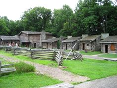 Fort Boonesborough-Where Daniel Boone built a fort for protection for the Kentucky settlers.