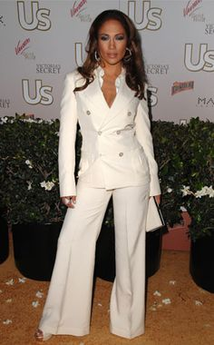 Jenny makes an appearance at Us magazine's Hot Hollywood bash in a double-breasted suit.