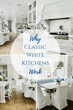 How to make a white kitchen anything but boring with these tips.