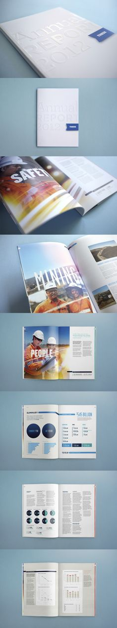 Annual and Sustainability Reports for one of Australia's largest Mining and construction services companies, Thiess. By The Bearded Co.