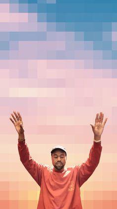 Group of Kanye West Iphone Wallpaper Ocean Wallpaper, Rap Wallpaper, Wallpaper Iphone Cute, Wallpaper Backgrounds, Iphone Backgrounds, Kid Cudi, Kanye West Wallpaper, Hypebeast Iphone Wallpaper, Rapper Art