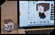 Cute!  Customize a cardboard person by choosing features & clothing at the Foldable.Me website. Use a screen shot of the final result to describe clothing and physical characteristics (llevar, ser, tener) with a partner.  Could turn into a guessing game if students write descriptions on paper and use 1:1 laptops for a carousel walk around.